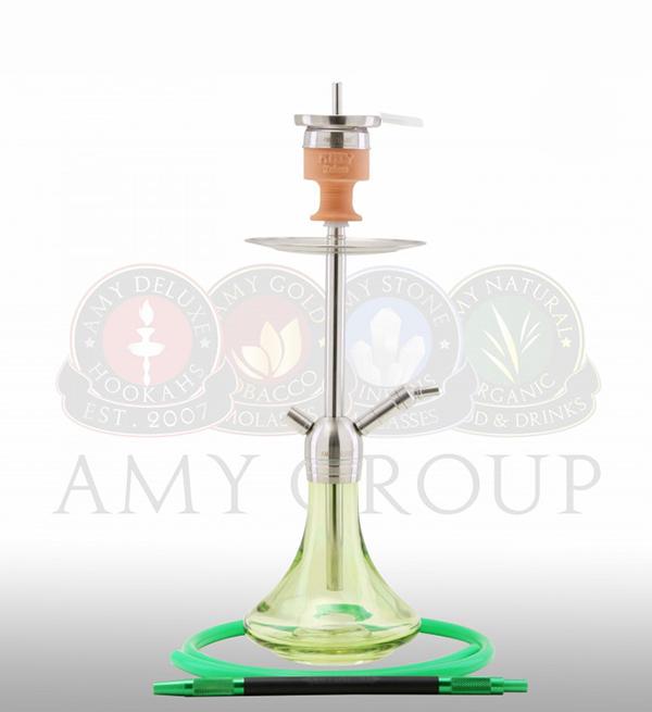 кальян Amy Deluxe SS 13 Little Stick зелёный