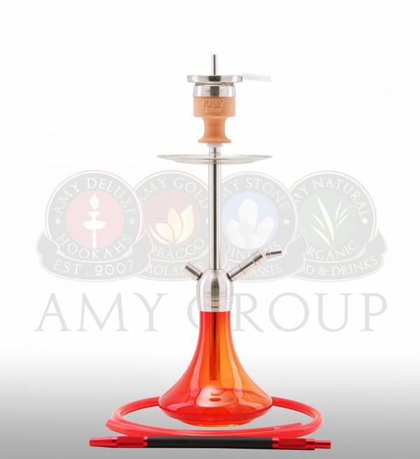 кальян Amy Deluxe SS 13 Little Stick красный