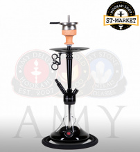 Купить онлайн кальян Amy Deluxe 066.02 Alu Deluxe S