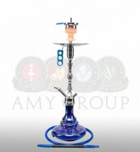 Купить онлайн кальян Amy Deluxe SS 08 R Hammer Steel