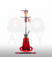 Купить онлайн кальян Amy Deluxe SS 18 Crystalica