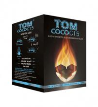 Купить онлайн уголь кокосовый Tom Cococha Blue 1кг