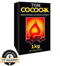 Купить онлайн уголь кокосовый Tom Cococha Yellow 1кг