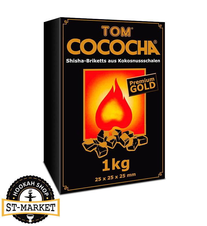 кокосовый уголь для кальяна tom cococha