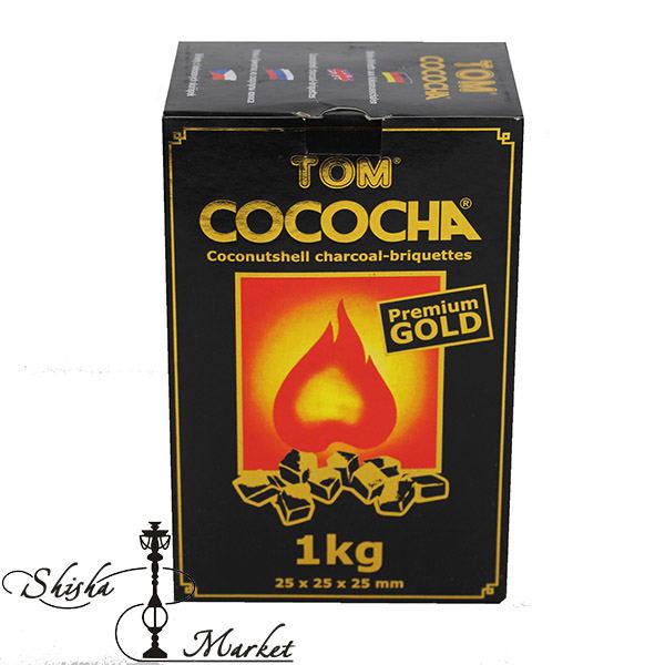 уголь для кальяна, кокосовый уголь, Tom cococha