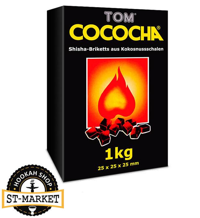 tom cococha Yellow 1 кг кокосовый уголь для кальяна