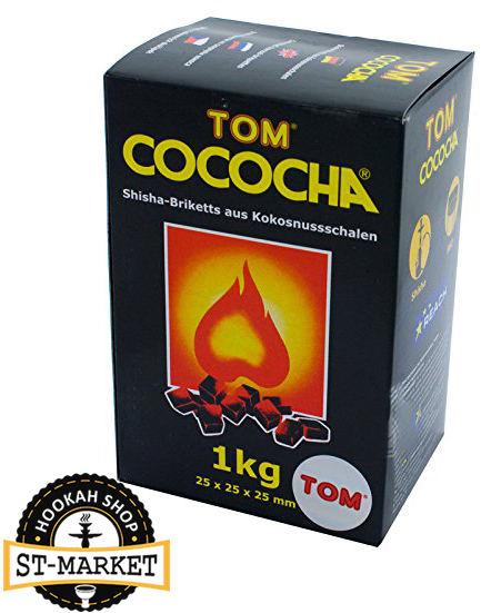 том кокоча желтый 1 кг кокосовый уголь для кальяна