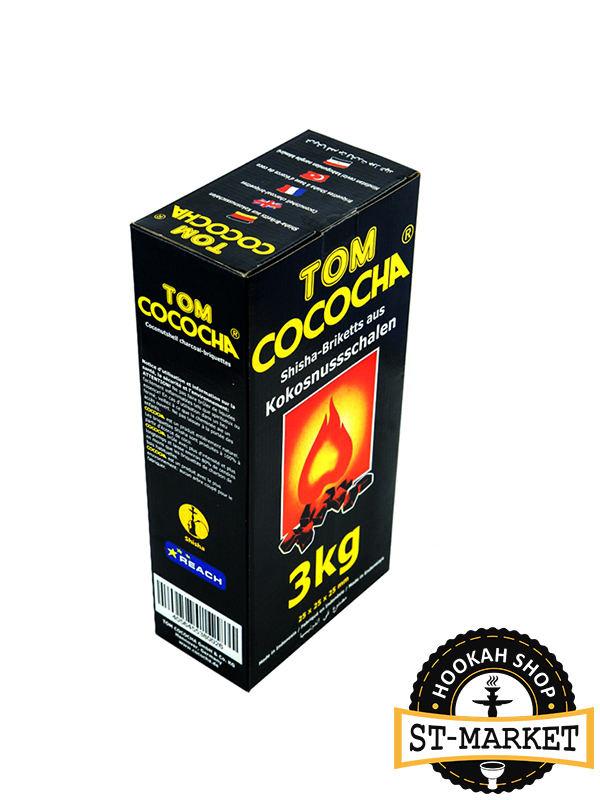 tom cococha Yellow 3 кг кокосовый уголь для кальяна